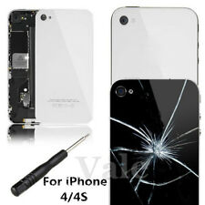 Glass Replacement Back Door Rear Battery Cover Black + Tools For iPhone 4/4S