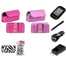For LG Cosmos Touch VN270 Holster Belt Clip Case Pouch Charger Stylus