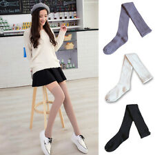 Women Girl Over Knee High Socks Hollow Out Warm Hosiery Thigh Long Boot Stocking