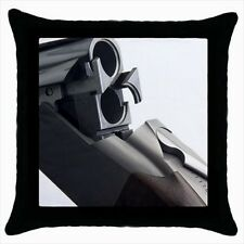 Browning Shotgun Throw Pillow Case Set (x2) - Decorative Toss Pillow