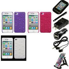 For Apple iPhone 4/4S Diamond Bling Rhinestone Case Phone Cover Accessories