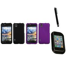 For LG Optimus Black P970 Snap-On Hard Case Cover Skin Accessory Mount+Pen