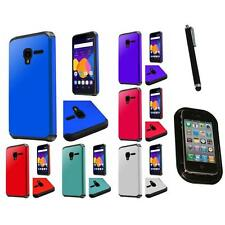 For Alcatel One Touch Elevate TPU Rubber Flexible Skin Case Cover Mount+Pen