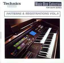PATTERNS & REGISTRATIONS VOL.9 floppy disk Technics GA1 GA3 EA5 F100 G100 FA1+