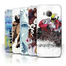 STUFF4 Back Case/Cover/Skin for HTC One ME/Fragments