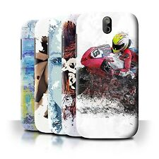 STUFF4 Back Case/Cover/Skin for HTC Desire 608t/Fragments