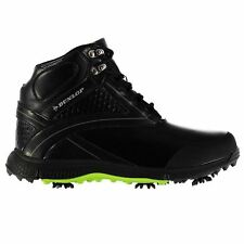 Dunlop Mens Gents Biomimetic 300 Golf Boots Laces Fastened Shoes Footwear