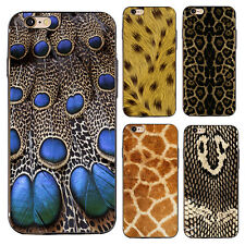 3D Leopard Snake Animal Skin Pattern Case Cover for iPhone 6 7 Plus Sumsang Hot