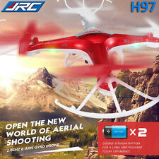 New JJRC H97 2.4GHz 4CH 6-Axis LED RC Quadcopter Drone 3D with HD Camera Remote