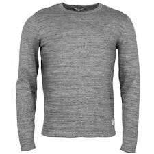 Jack and Jones Mens Gents Core Aragon Jumper Sweater Crew Long Sleeve Clothing