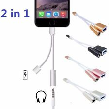 Headphone Adapter Charging Charger Cable For Apple Iphone 7/7 Plus 1-10