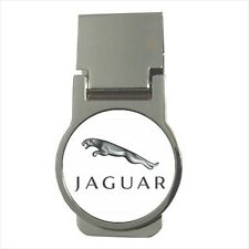 Jaguar Round Money Clip - (Optional CZ Cubic Zircon Stones)
