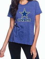Dallas Cowboys Blue or Silver Glitter Graphic T-Shirt! (Multiple Variations)