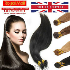 Superior Stick Tip Extensions 100% I Tip Remy Human Hair Micro Rings 200S N152