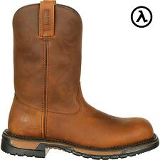 ROCKY ORIGINAL RIDE COMPOSITE TOE WTRFP ROPER WESTERN BOOTS RKW0171 - ALL SIZES