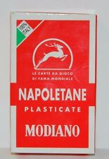 MODIANO NAPOLETANE ITALIAN PLAYING CARDS, NEW AND SEALED