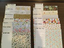 STAMPIN' UP! DESIGNER SERIES PAPER, Retired, 12x12, BRAND NEW, RARE