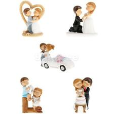Novelty Cake Toppers Groom &Bride Wedding Cake Cartoon Cake Topper Figurine