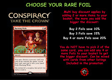 MTG Conspiracy Take the Crown CN2 Choose your Rare Foil - Mint Condition