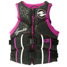 Hyperlite Women's Pro V Life Jacket Medium Large XL Pink USCG approved type III