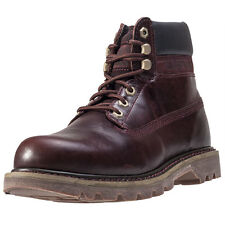 Caterpillar Colorado Mens Boots Burgundy New Shoes