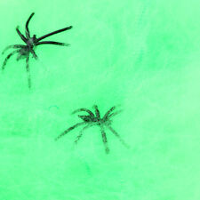 New Halloween Prop Spider Web + Spider Bar Party Scary Haunted House Decoration