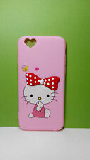 3D Silicone Cute Cartoon Hello Kitty Back Cover Case for Apple iPhone6/6s/Plus