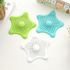 Bathtub Sink Hair Catcher Rubber Bath Strainer Shower Drain Kitchen Helper