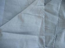 Flannel one-side nap 100% cotton fabric thin interlining blue gray natural 1 yd