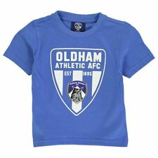 Team Childrens Oldham Graphic T-Shirt Boys Stamp Crew Short Sleeve Top Clothing