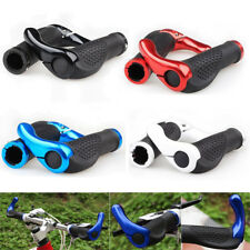 1 Pair Cycling Mountain Bike Bicycle Lock-on Handlebar Rubber Grips Handle Bar