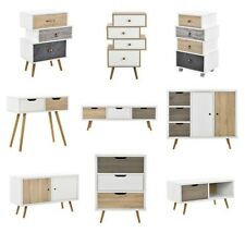[en.casa] Design Dresser Sideboard Cabinet Side table Console table TV table