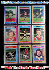 ☆ Topps 1976 Football Blue/Grey Cards 163 to 216 (VG) *Please Select Cards*