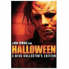 Halloween (DVD, 2008, 3-Disc Set, Collector's Edition) Rob Zombie horror classic