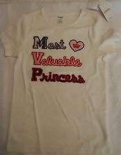 GYMBOREE size 7 or 9 Homecoming Kitty Cotton Shirt NWT Most Valuable Princess