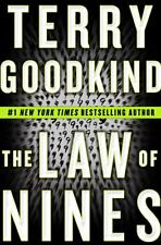 The Law of Nines by Terry Goodkind (2009, Hardcover)