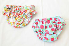 Baby Infant Girl 3 T Toddler Swimsuit Ruffle Swim Bloomers Swimming Beach Summer
