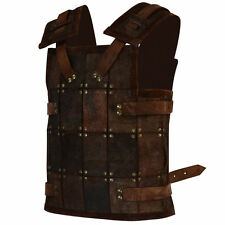 Viking Fighter Armor, Brown Armor, Soldier, S, M, L, XL, Medieval, LARP,Cosplay