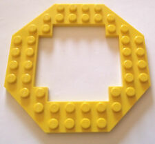 LEGO 10x10 octagonal plate modified cut out x 1 part 6063 Choose your colour!