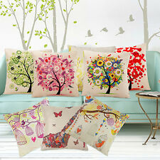 Fashion Square Linen Throw Pillow Case Cushion Cover Sofa Decoration Mirable
