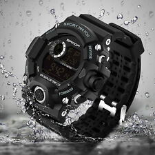 LED Digital Date Military Army Quartz Wrist Watch Waterproof Sports for Mens