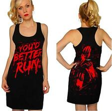 2X~THE WALKING DEAD~punk~ZOMBIE~run~COSPLAY~costume~MINI~DRESS~and torrid JEWEL
