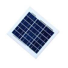 Frameless 5W poly PV solar panel with tempered glass Laminated