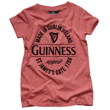 Guinness Red Stamp Grindle Ladies T-Shirt