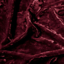 Crushed Stretch Velvet 60'' 95% Poly 5% Spandex Fabric by the Yard - Style 0689