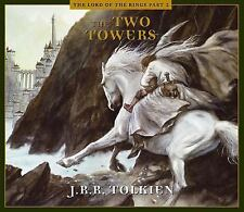 The Two Towers by J. R. R. Tolkien (2002, CD, Abridged, Unabridged)