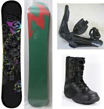 "NEW SIMS ""QUEST"" SNOWBOARD, BINDINGS, BOOTS PACKAGE - 156cm"