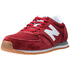 New Balance U420RWG Trainers Red White New Shoes