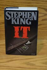It by Stephen King (1986, Hardcover) 1st Edition 2nd Printing Novel !! UNREAD !!