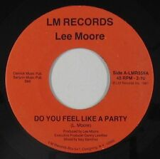 Modern Soul Boogie 45 - Lee Moore - Do You Feel Like A Party - LM - VG++ mp3